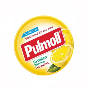 Pulmoll Pastillen Zitrone + Vitamin C (50g/hộp)