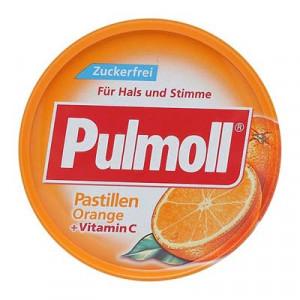 Pulmoll Pastillen Orange + Vitamin C (50g/hộp)