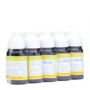 Dung dịch điều trị nhiễm khuẩn ngoài da Milian (10 chai x 18ml/lốc)