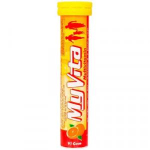 Myvita hương cam (20 viên/tube)