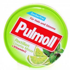 Pulmoll Pastillen Limette Minze + Vitamin C (50g/hộp)