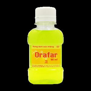 Dung dịch súc miệng Orafar (Chai 90ml)