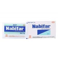 Thuốc vệ sinh vùng kín phụ nữ, khử mùi hôi Nabifar (10 gói x 5g/hộp)