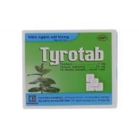 Viên ngậm sát trùng các bệnh ở họng và miệng Tyrotab (24 viên/hộp)