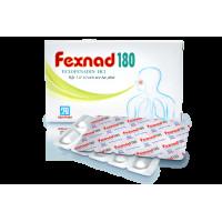 Thuốc chống dị ứng Fexnad 180 (1 vỉ x 10 viên/hộp)