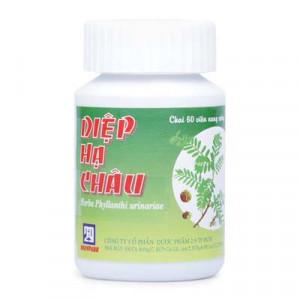 Thuốc điều trị các chứng viêm nhiễm Diệp Hạ Châu (60 viên/chai)