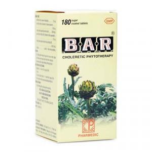 Thuốc lợi gan mật Bar (180 viên)