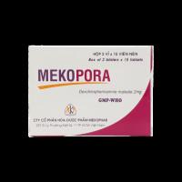Thuốc trị viêm mũi dị ứng, mề đay Mekopora 2mg (2 vỉ x 15 viên/hộp)