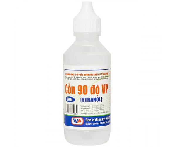 Cồn y tế 90 độ trắng Vĩnh Phúc (60ml)