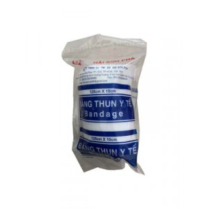 Băng thun y tế 3 móc (120cmx10cm)