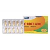 Thuốc điều trị tình trạng thiếu Vitamin E Enat 400 (3 vỉ x 10 viên/hộp)