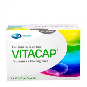 Vitacap (Hộp 5 vỉ x 10 viên/hộp)