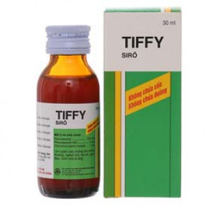Sirô điều trị giảm các chứng cảm thông thường Tiffy (30ml)