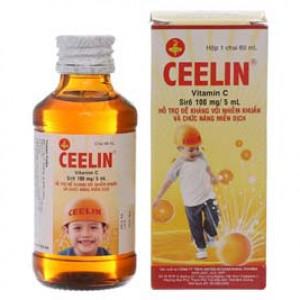 Sirô hỗ trợ đề kháng nhiễm khuẩn & tăng chức năng miễn dịch cho trẻ Ceelin (60ml)