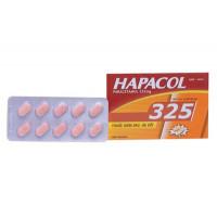 Thuốc giảm đau, hạ sốt Hapacol 325mg (10 vỉ x 10 viên/hộp)
