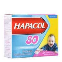 Thuốc giảm đau, hạ sốt cho trẻ Hapacol 80mg (24 gói/hộp)
