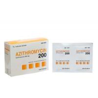 Thuốc kháng sinh Azithromycin 200mg DHG (24 gói/hộp)