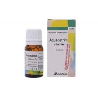 Thuốc bổ sung Vitamin D3 Aquadetrim Vitamin D3 (10ml)