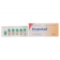 Thuốc kháng nấm Itranstad 100mg (6 viên/hộp)