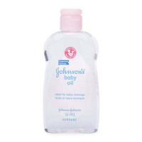 Dầu massage và dưỡng ẩm Johnson Baby (50ml)