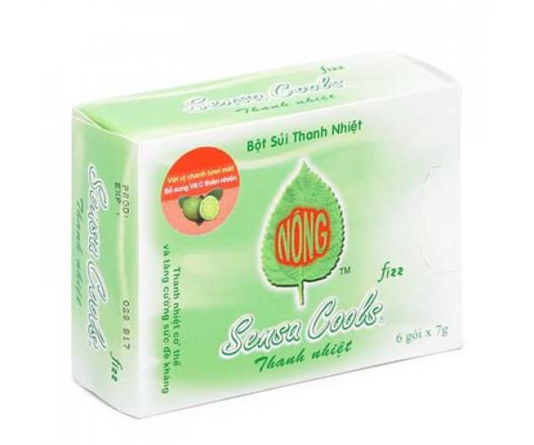 Bột sủi thanh nhiệt Sensa Cools (6 gói/hộp)
