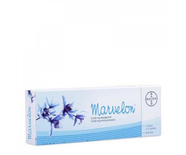 Thuốc tránh thai hàng ngày Marvelon (21 viên/hộp)