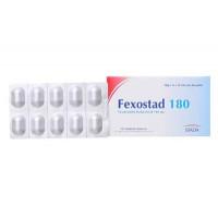 Thuốc điều trị bệnh viêm mũi dị ứng & nổi mề đay vô căn mãn tính Fexostad 180 (10 viên/hộp)