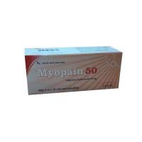 Thuốc giãn cơ Myopain 50mg (5 vỉ x 10 viên/hộp)