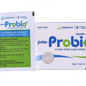 Thuốc cốm vi sinh sống dạng khô điều trị viêm ruột cấp và mãn tính PMS – Probio (14 gói/hộp)