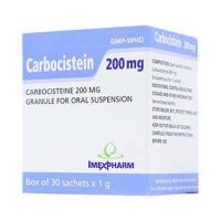 Thuốc bột long đờm Carbocistein 200mg (30 gói/hộp)