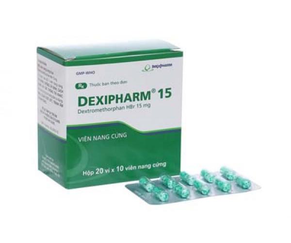 Dexipharm 15mg (20 vỉ x 10 viên/hộp)