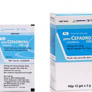 Thuốc kháng sinh Cefadroxil 250mg Imexpharm (12 gói/hộp)
