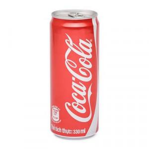 Nước giải khát có gas Coca-Cola (330ml/lon)