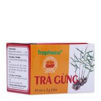 Trà gừng trị đau bụng, ho do cảm lạnh Traphaco (10 túi x 3g/hộp)