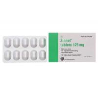 Thuốc kháng sinh Zinnat Tablets 125mg (10 viên/hộp)