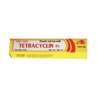 Thuốc mỡ tra mắt Tetracyclin 1% Quapharco (5g)