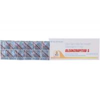 Thuốc trị động kinh Oleanzrapitab 5 (5 vỉ x 10 viên/hộp)