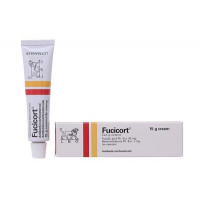 Kem trị viêm da nhiễm khuẩn Fucicort (15g)