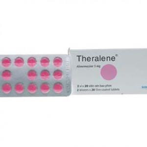 Thuốc chống dị ứng Theralene 5mg (2 vỉ x 20 viên/hộp)