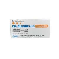 Thuốc trị loãng xương DH-Alenbe Plus 70mg/2800 IU (2 vỉ x 2 viên/hộp)