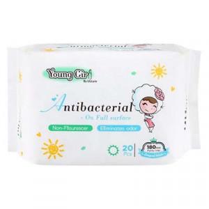 Băng vệ sinh UUcare Young Girl kháng khuẩn hàng ngày 180mm (20 miếng/gói)