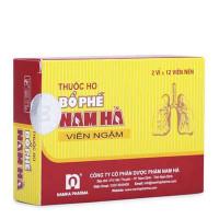 Thuốc ho bổ phế dạng Nam Hà viên ngậm (12 viên/hộp)