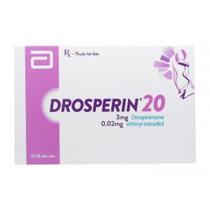 Thuốc tránh thai Drosperin 20