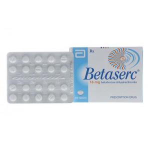 Thuốc trị rối loạn tiền đình Betaserc 16mg (3 vỉ x 20 viên/hộp)