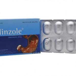 Thuốc điều trị viêm loét dạ dày tá tràng Helinzole (3 vỉ x 8 viên/hộp)