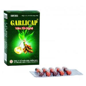 Thuốc hỗ trợ hạ cholesterol và triglycerid máu giúp bảo vệ tim mạch Garlicap