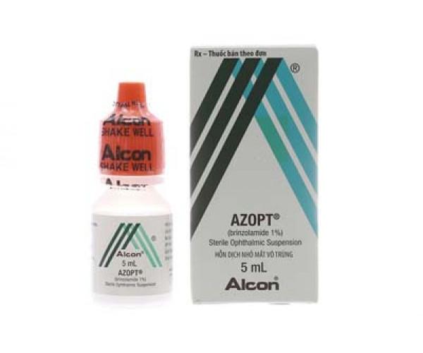 Thuốc trị tăng nhãn áp Azopt (5ml)