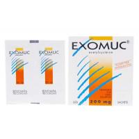 Thuốc điều trị các bệnh rối loạn phế quản Exomuc 200mg (30 gói/hộp)