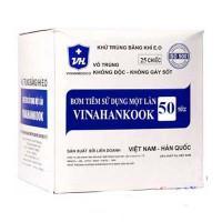 Bơm tiêm sử dụng một lần Vinahankook (50ml/cc)