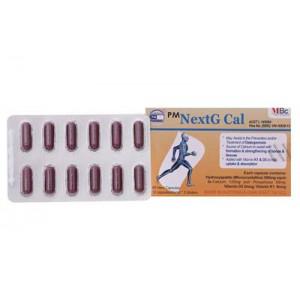 Thuốc bổ sung canxi PM NextG Cal ( 5 vỉ x 12 viên/hộp)